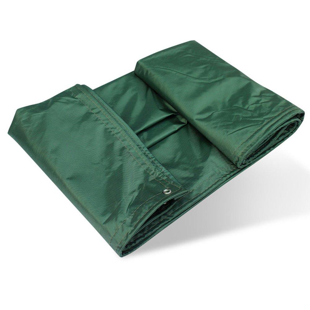 PENGFEI トラック オーニング ターポリン 防水 ポンチョ 厚い カーポート 防塵の 日焼け止め 倉庫 カーゴカバー オックスフォード布、 厚さ0.45MM、 450G/m2 (色 : 緑, サイズ さいず : 6 x 8m) 6 x 8m 緑 B07D74SLGG