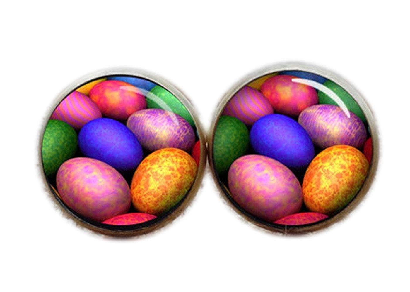 Coloridos huevos Gemelos, Gemelos de painted eggshell: Amazon.es ...