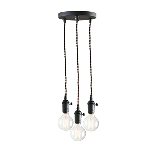 3 Bulb Pendant Lighting: Amazon.co.uk