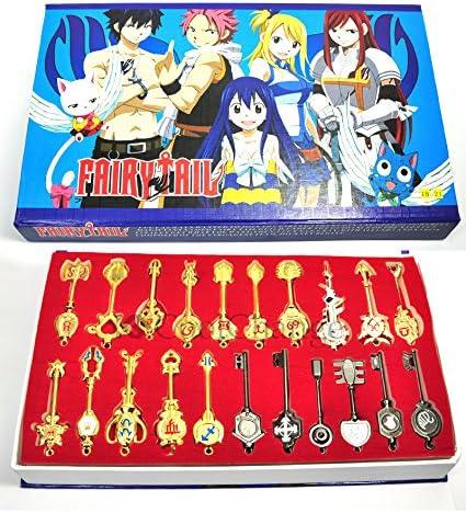 Fairy Tail Lucy Schlüssel Set mit Anhängern