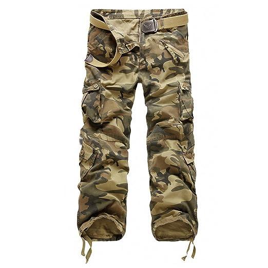 17 opinioni per Minetom Release Pantaloni da Uomo sportivi Casual Pantaloni cargo Stile Militare