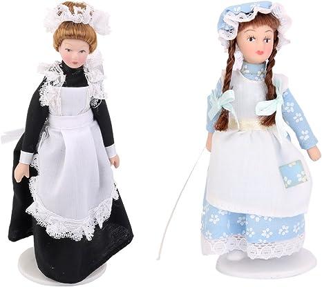 ShenTan Puppenhaus Miniatur Essensspielszene Modell Puppenhaus Zubeh/ör Mini Mikrofon Schwarz