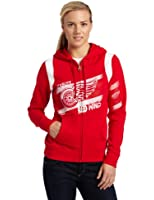 NHL Detroit Red Wings Tremendous Fan Fleece Full Zip Hood Women's