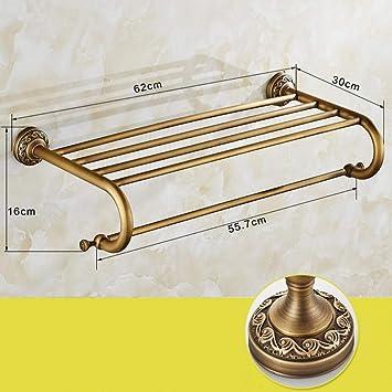 Toallero de pared Cobre barra de toalla antigua barra de baño barra de baño barra de