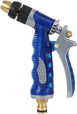 Pistola de agua de jardín Pistola rociadora de alta presión Adecuada para el riego del jardín