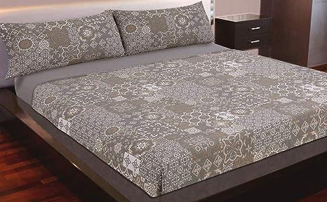 Juego de sábanas estampado (ARENA, para cama de 150x190/200)
