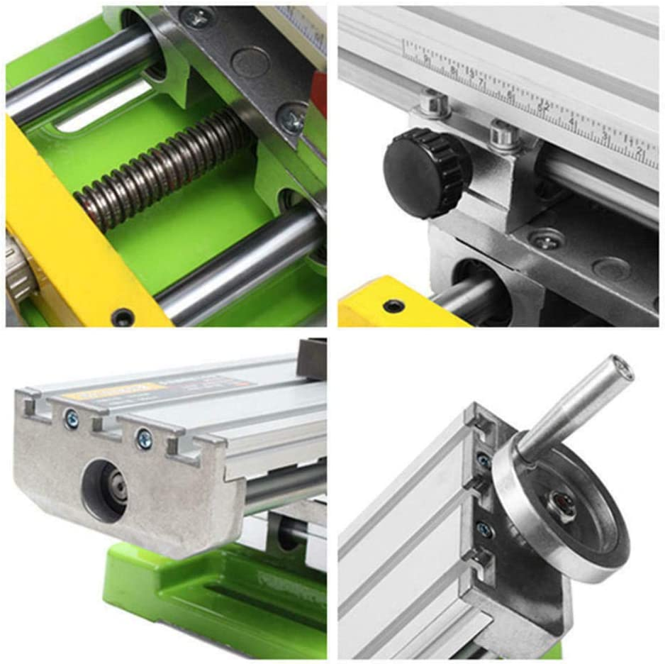 13.8-3.9 Large Mini Precision Milling Machine Worktable Multifunction Drill Vise Fixture Working Table