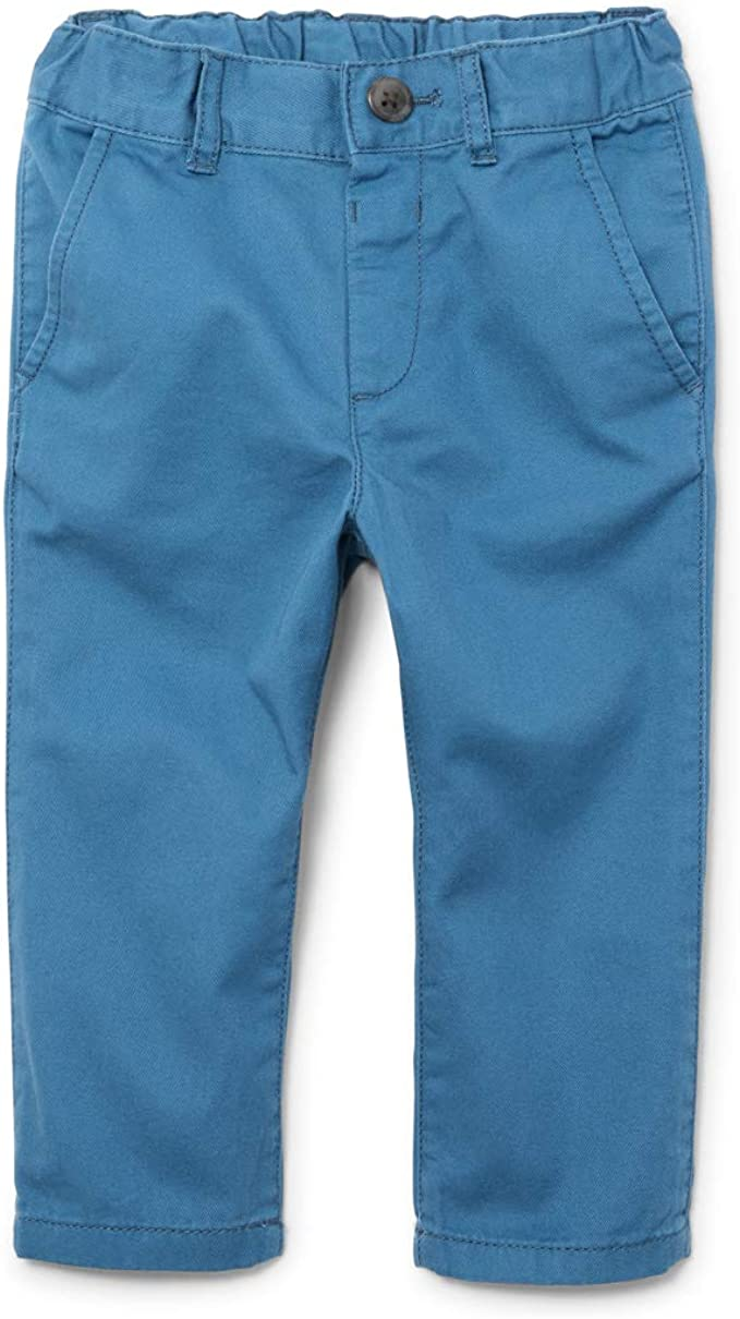 6-9MONTHS FIN Gray The Childrens Place Boys Toddler Skinny Chino Pants