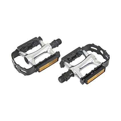 "Wellgo B223P Cr-Mo Spindle 9//16/"" DU Sealed Bearings Bicycle Bike Pedals Platform"