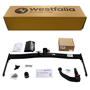 Westfalia Abnehmbare Anhängerkupplung Golf 5 Limousine (BJ 11/03-09 ...