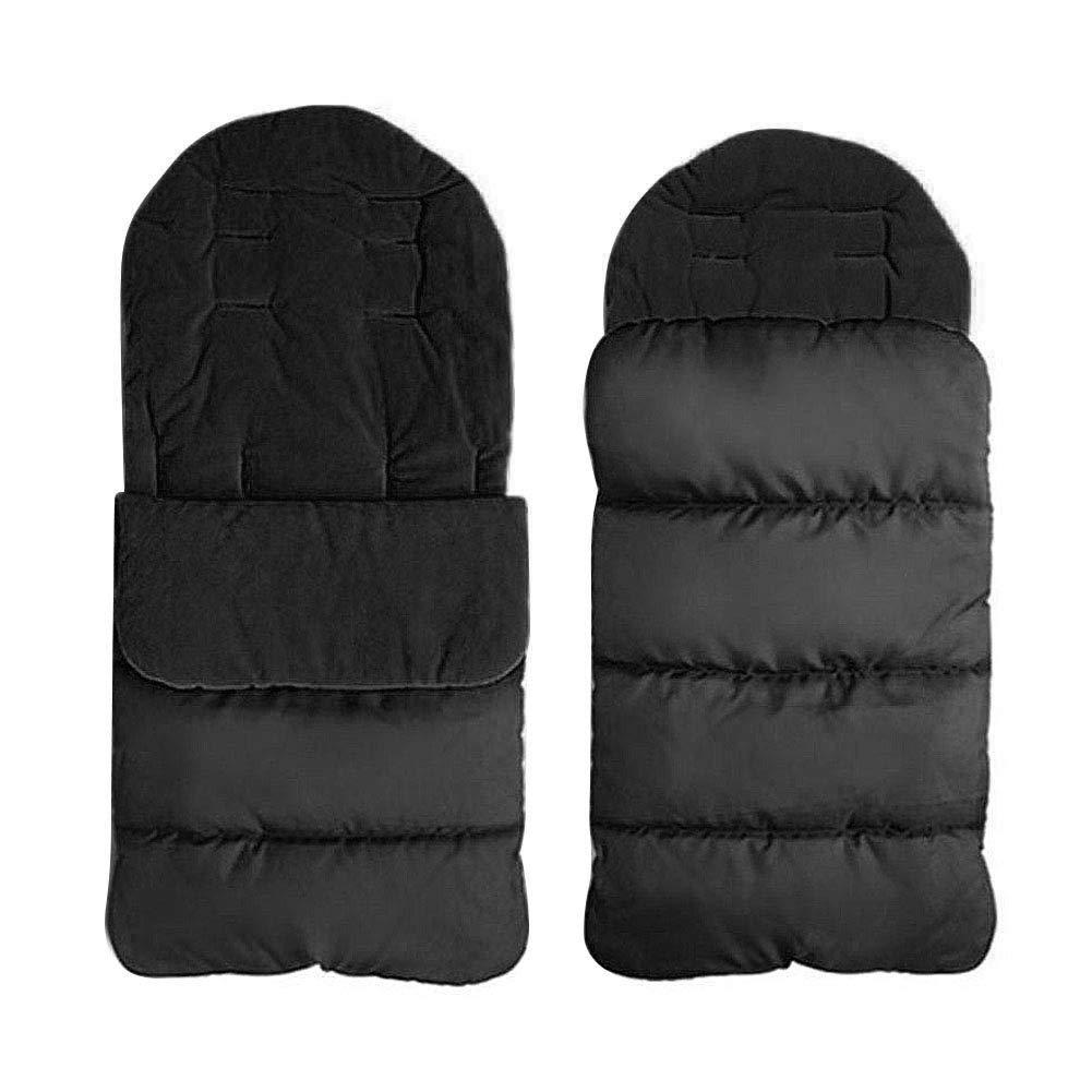 RONGYE Bunting Bag, Baby Sleeping Bag Waterproof Windproof Stroller Footmuff Cover 2-in-1 Universal Stroller Blanket, Detachable Stroller Cushion for Toddler Infant by RONGYE