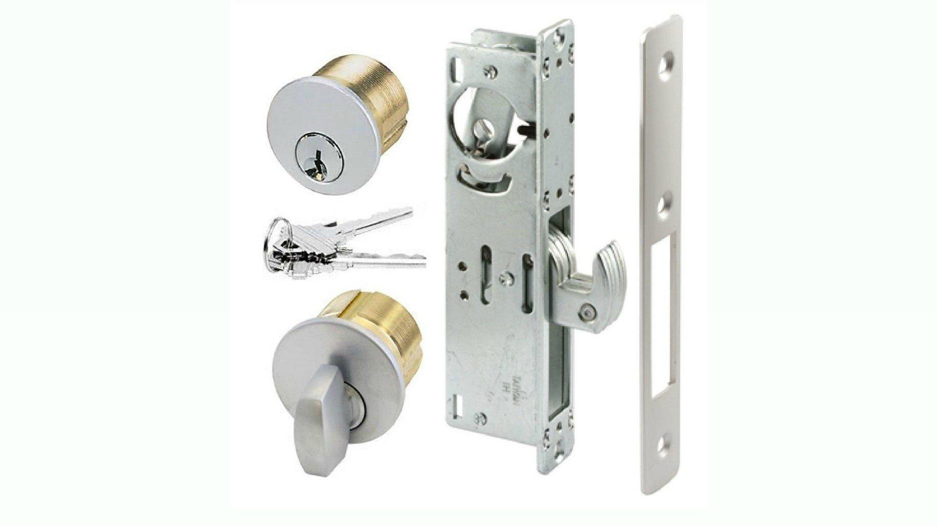 Lock Boxes For Sliding Gates : Hook Deadbolt Mortise Gate Lock : Weldable Steel Lock Box