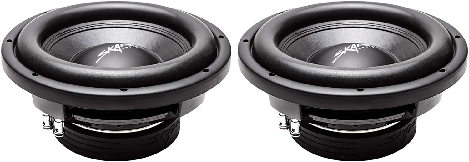 "(2) Skar Audio VD-10 D4 10"" 800W Max Power Dual 4 Ohm Shallow Mount Subwoofers, Pair of 2 61-FBumXIuLSL1500_"