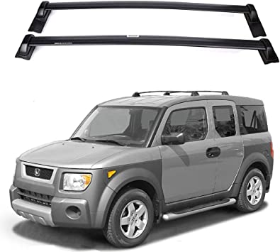 Amazon Com Ants Part For 2003 2011 Honda Element Cross Bars Roof Rack Top Luggage Carrier Oe Style Automotive