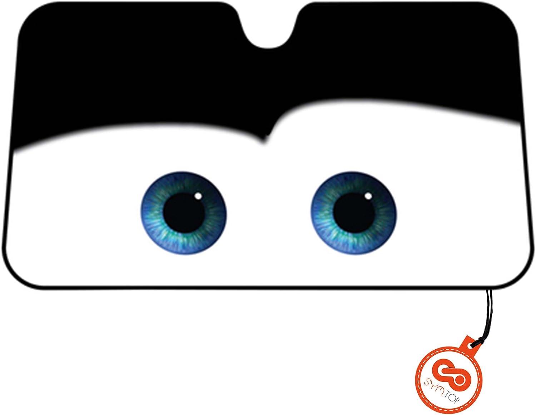 XHDDI Parabrisas del coche de dibujos animados animado Luffy Superman sombrilla del coche delantero Protector solar Aislamiento t/érmico Parasol del coche Parasol Ventana bloque del coche Protecci/ón ef