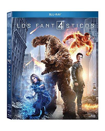 Cuatro Fantásticos (2015) [Blu-ray]