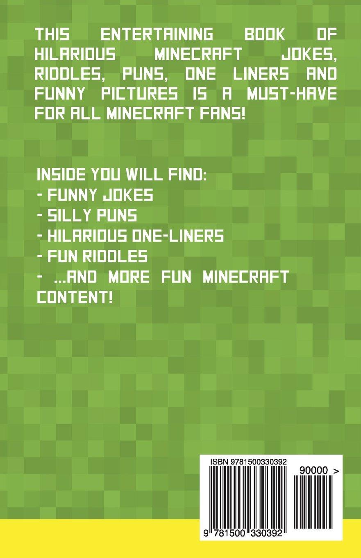 Minecraft Jokes for Kids: Hilarious Minecraft Jokes, Puns