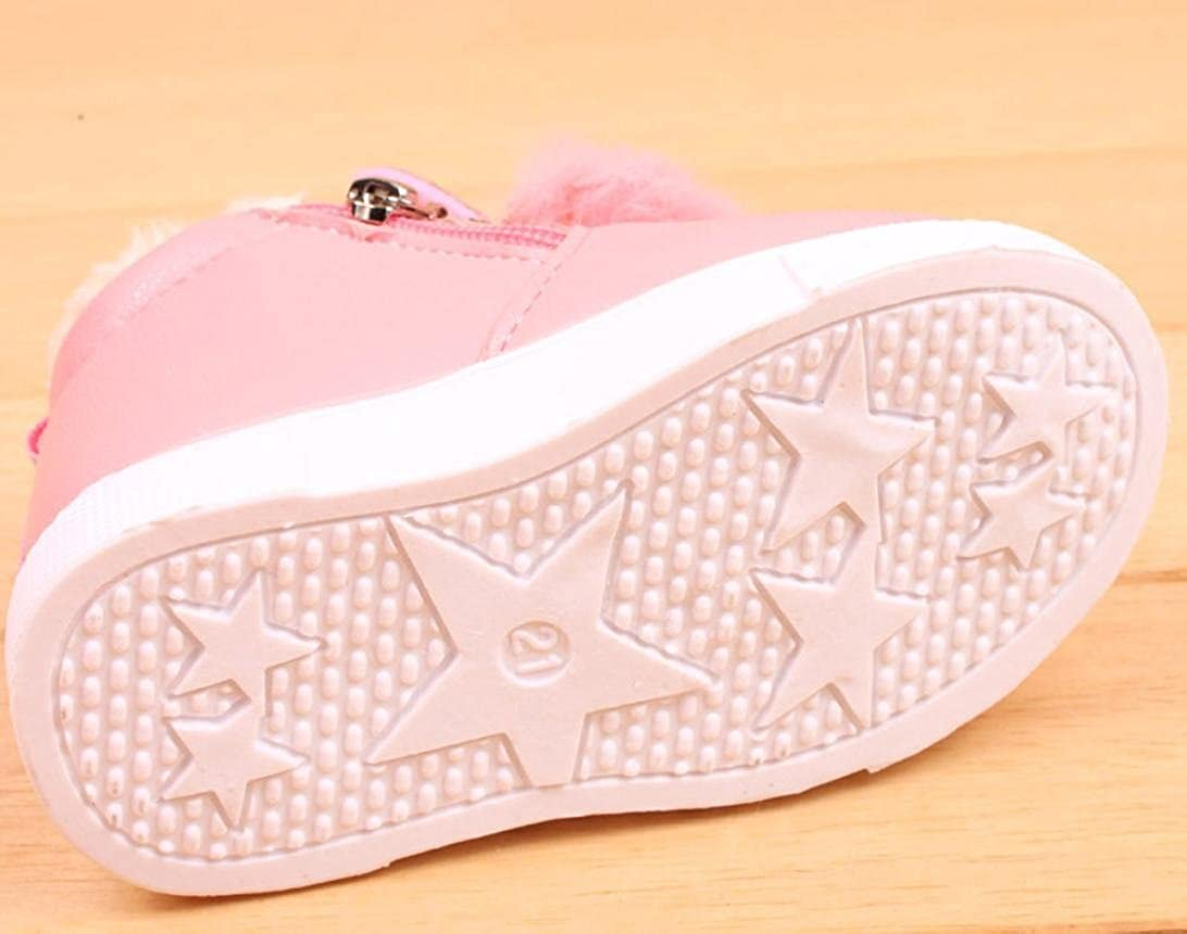 455612ec7 Bovake Baby Boots Toddler Newborn Soft Sole Anti-skid Pram Booties ...