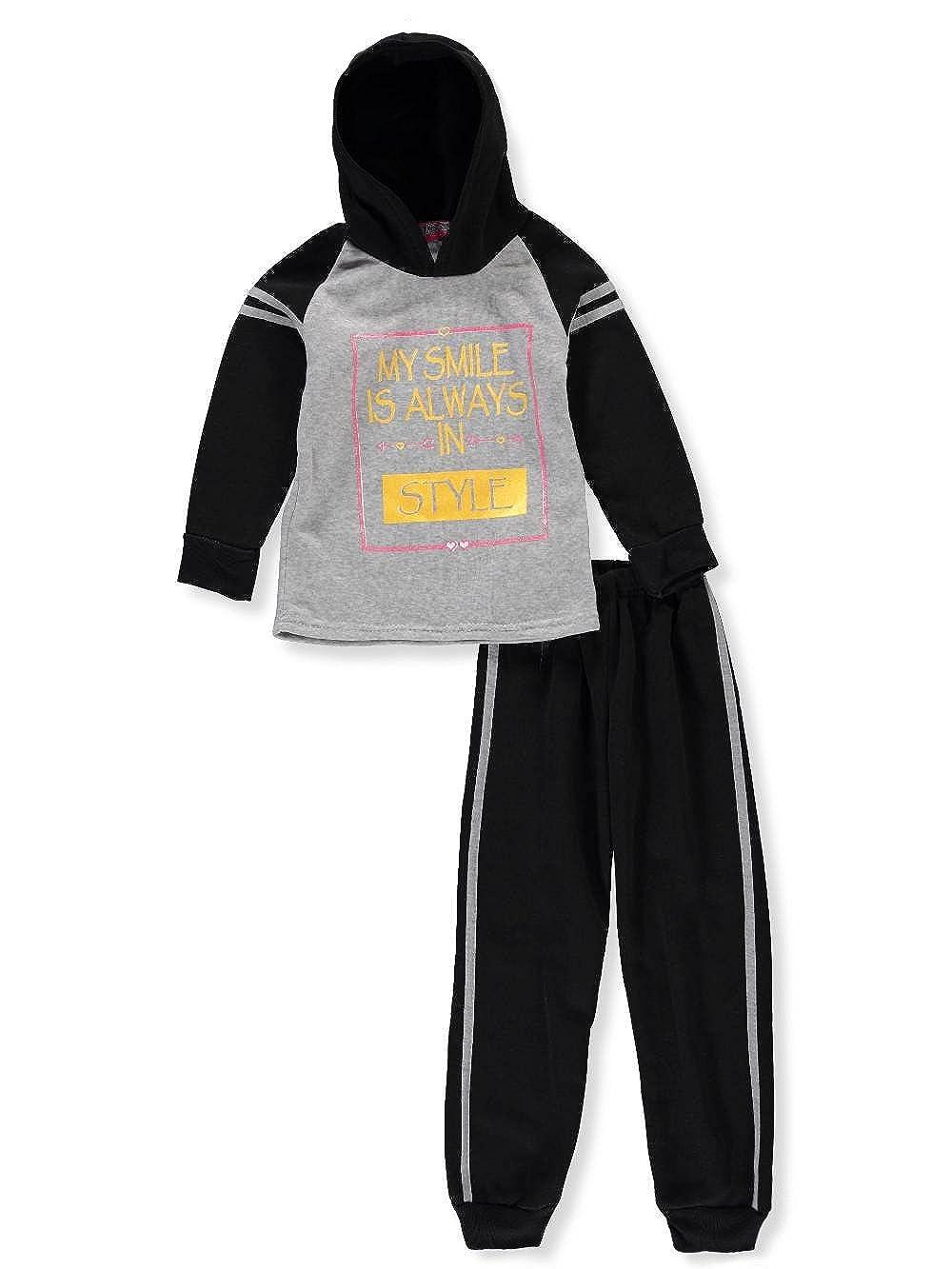 Coney Island Girls' 2-Piece Sweatsuit Pants Set
