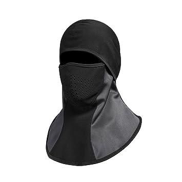 Máscara de esquí pasamontañas Resistente al Viento de invierno para más de cabeza Calentador de Cuello