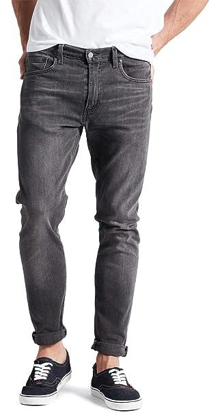 el más nuevo d6038 ede76 Levi's Hombre 512 Slim Fit Fit Jeans, Gris: Amazon.es: Ropa ...