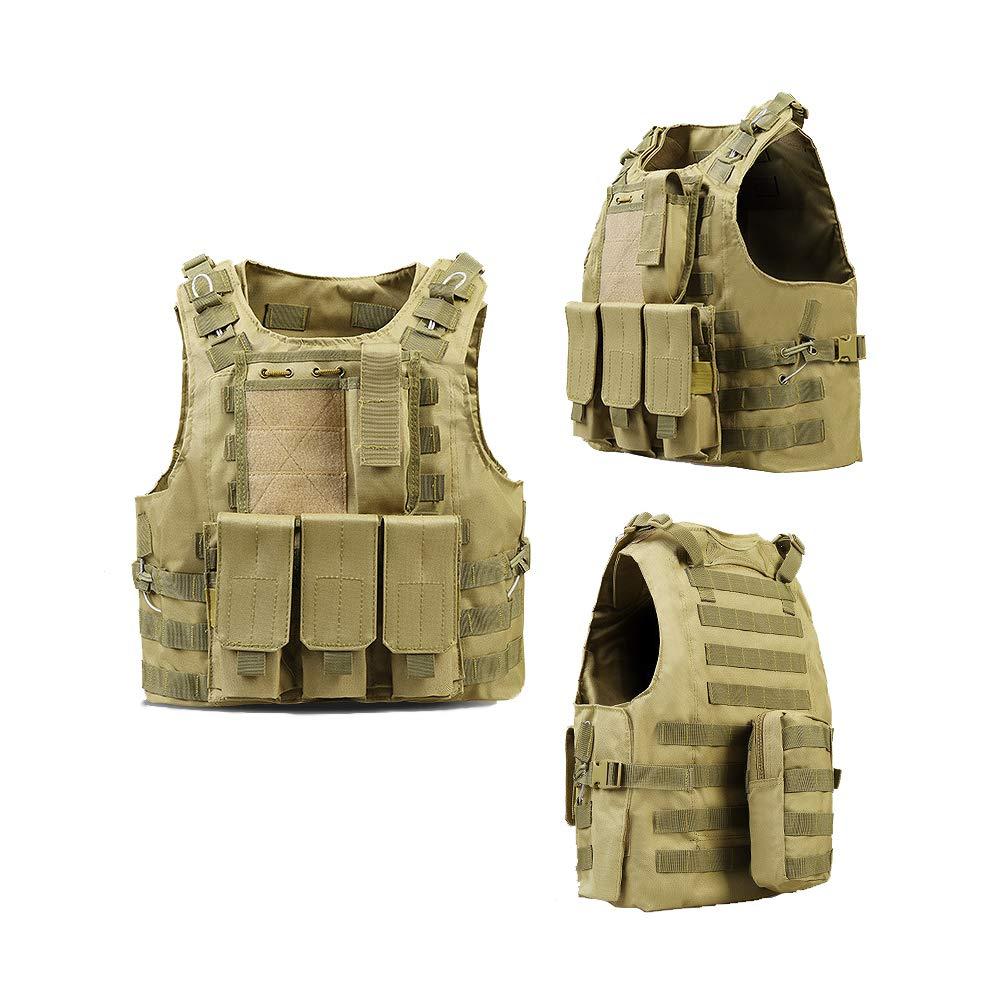 DENGENHUI Multifunktion Taktische Weste Militärischer Drill CS-Ausrüstung Militärfan Outdoor-Produkt