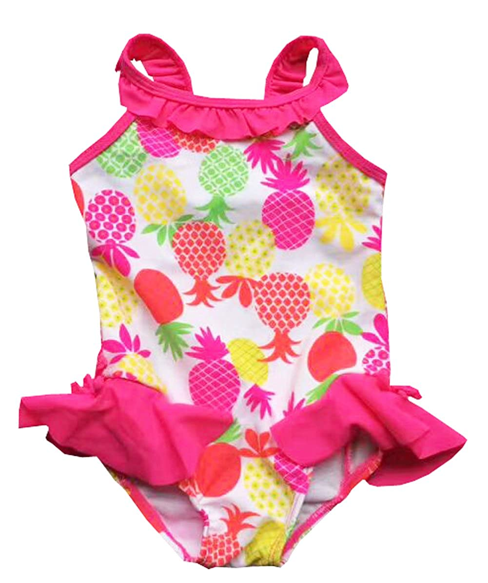 eKooBee Infant Baby Girl Swimwear One Piece Pineapple Swimsuit