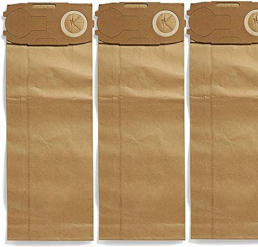 Maxorado - 50 bolsas de aspiradora con filtro para aspiradoras ...