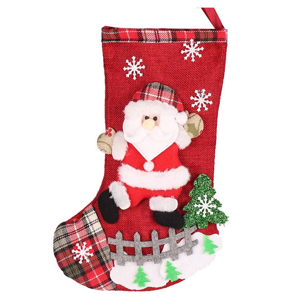 Topdo Bolsa de Regalo Navidad con Cajas de Oso Lindo Portátil Gift Bag Decoración Colgante para Navidad Fiesta de Boda Bolsas de Regalo 1 Pieza Azul 20 * 33cm