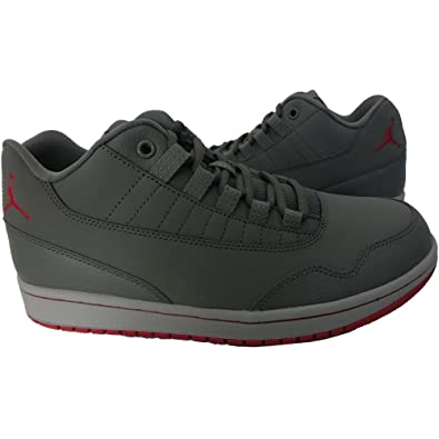 finest selection 41172 2c786 NIKE Men s Jordan Executive Low Basketball Shoes, (Cool Gym Red-Wolf Grey)