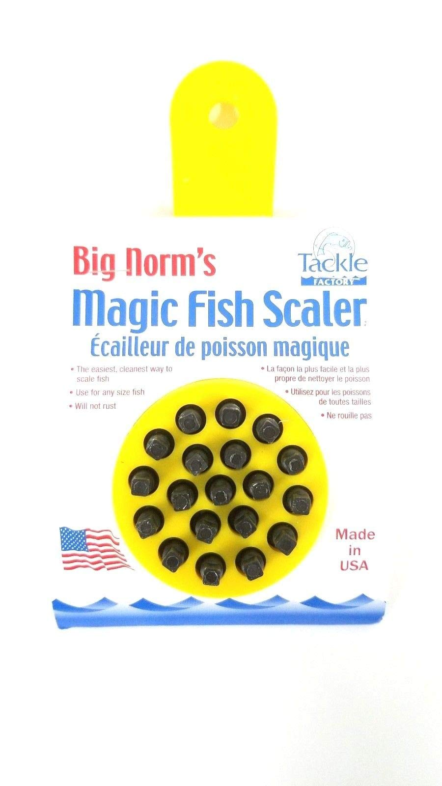 Big Norm's Magic Fish Scaler (8-Pack) by Tackle Factory