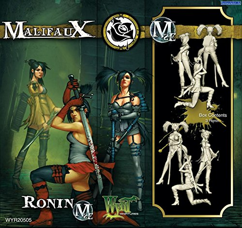 Wyrd Miniatures Malifaux Ronins Model Kit (3 Pack)