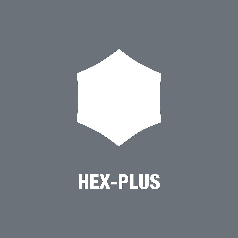 2 2.0 x 75 mm Wera 05023105001 354 Sechskant-Schraubendreher Hex-Plus