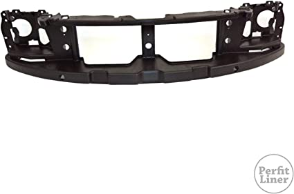 Perfit Liner New Replacement Parts Front Black Bumper Valance For Pickup Fits TO1095164 5391189114