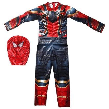 werty Cosplay Ropa Niño The Amazing Spider-Man Anime Disfraz ...