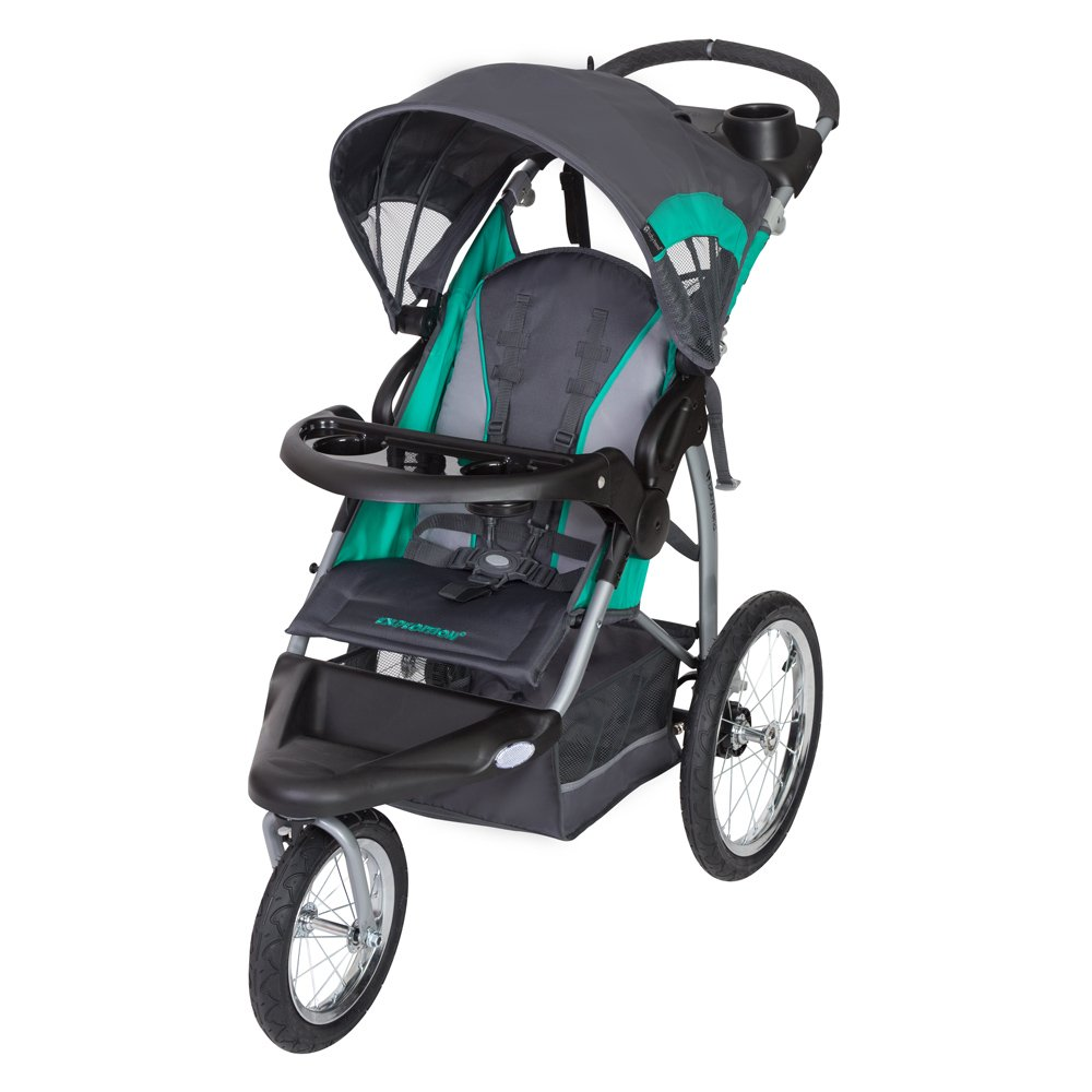 Baby Trend Expedition RG Jogger Stroller, Emerald JG77B08B
