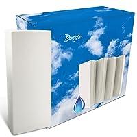 Lot de 4 humidificateurs en céramique pour radiateur et radiateur - Convient pour toutes les pièces