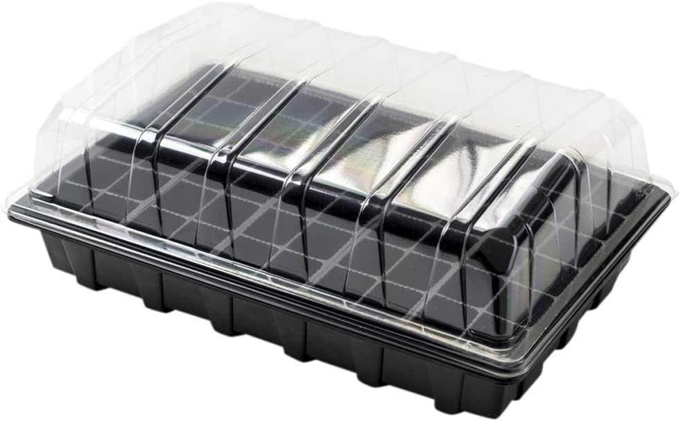 24 Cell Inserts With or No Holes 2 X Full Size Propagator Set Lids Seed Trays