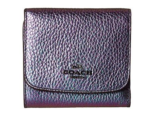 [해외]코치 홀로그램 소형 지갑 DK 멀티 컬러 지갑/COACH Hologram Small Wallet DK Multicolor Wallet