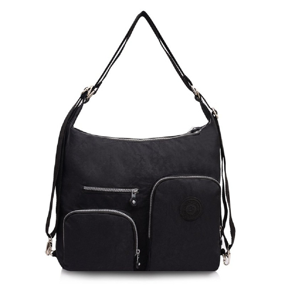 ab4d88560ced Amazon.com   Urmiss(TM) Cute Large Versatile Multifunction Nylon School  Lightweight Backpack Travel Shoulder Messenger Bag   Sports   Outdoors