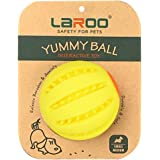 LaRoo Dog Treat Toys -Interactive Puzzle IQ Chew Ball -Durable Dog Puzzle Toy-Dispensing Dog Toy-Fetch Balls for Large…