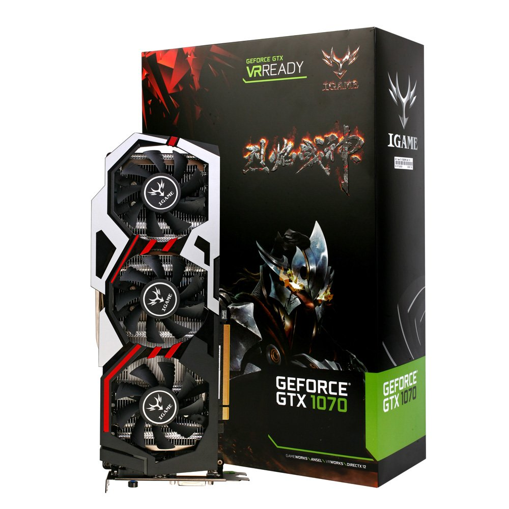 Docooler Colorful NVIDIA GeForce GTX iGame 1070 GPU 8GB ...