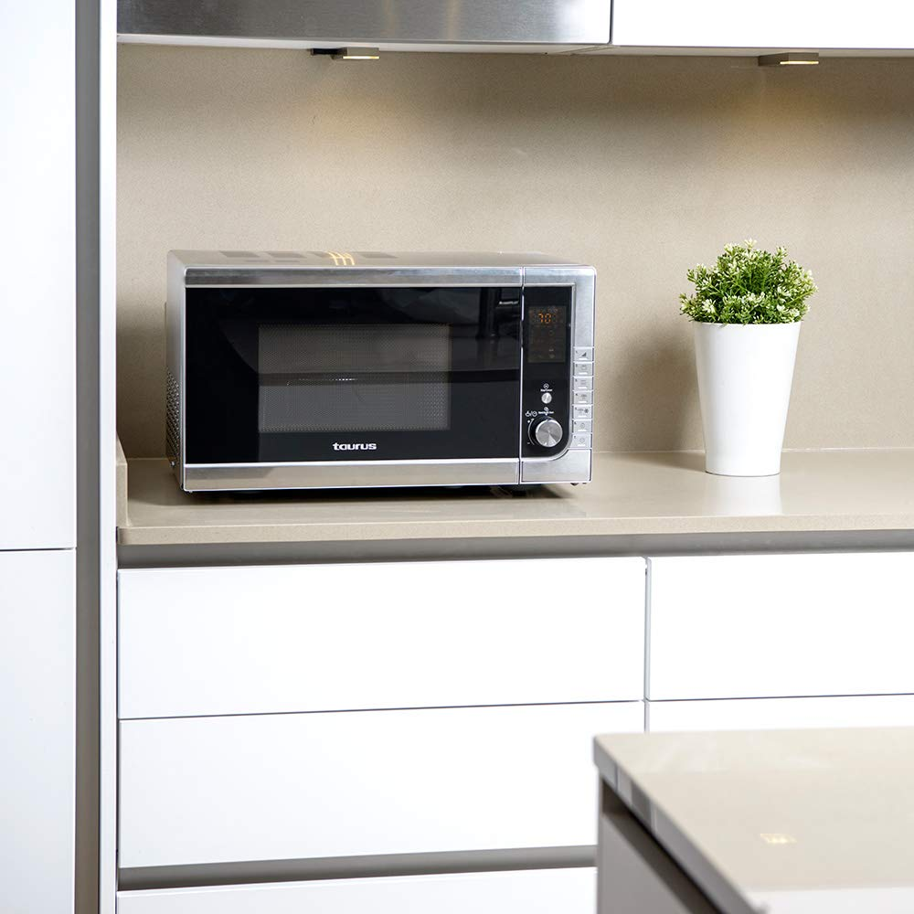 MICROWAVES Style Microondas Digital, INOX: Amazon.es: Hogar