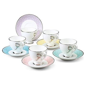 NARUMI (Narumi) Ferishita! Coffee cup and saucer (5 guests) bone china 96132-21755 (japan import) Amazon.co.uk Kitchen \u0026 Home  sc 1 st  Amazon UK & NARUMI (Narumi) Ferishita! Coffee cup and saucer (5 guests) bone ...