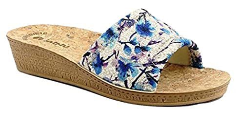 più popolare diversamente abbastanza economico INBLU Ciabatte Pantofole Aperte Donna MOD. DI-60 Jeans Linea ...