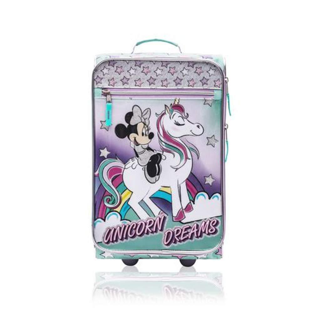 Minnie Mouse Junior Luggage 18 Inch Luggage for Kids - [Minnie - Unicorn Dreams]