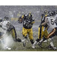$139 » Jerome Bettis Autographed Pittsburgh Steelers 16x20 Photo Snow JSA