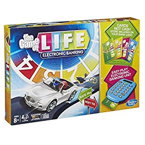 The Game of Life Electronic Banking - 61 FOd9qNrL - Hasbro Gaming The Game of Life Electronic Banking