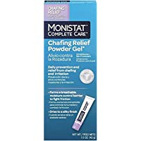 MONISTAT Complete Care Chafing Relief Powder Gel 1.5 oz (Pack of 4)