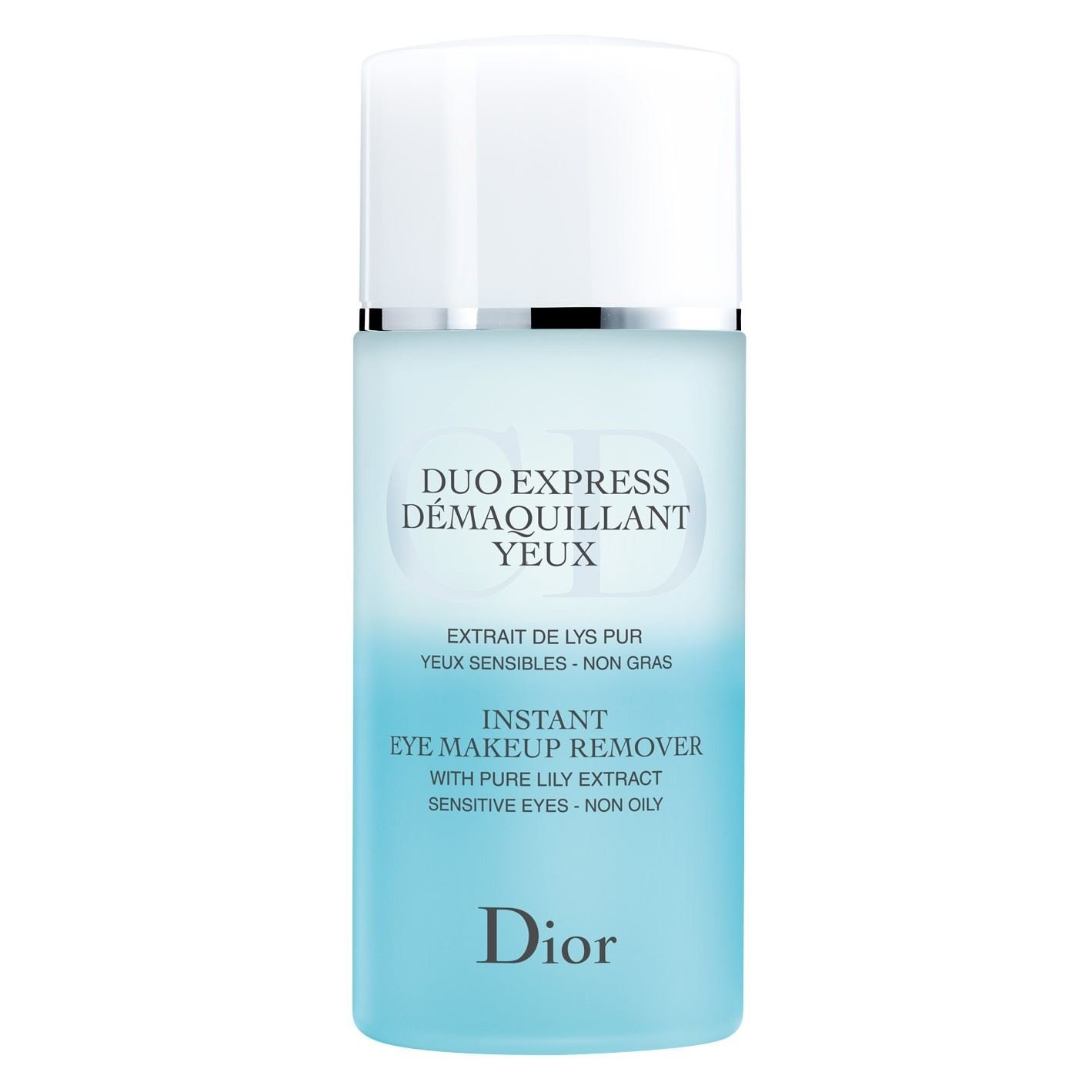 Dior Instant Eye Makeup Remover 125ml - Pack of 2
